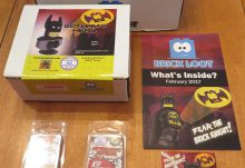 February 2017 Brick Loot Review: Fear the Brick Knight! - Box Contents