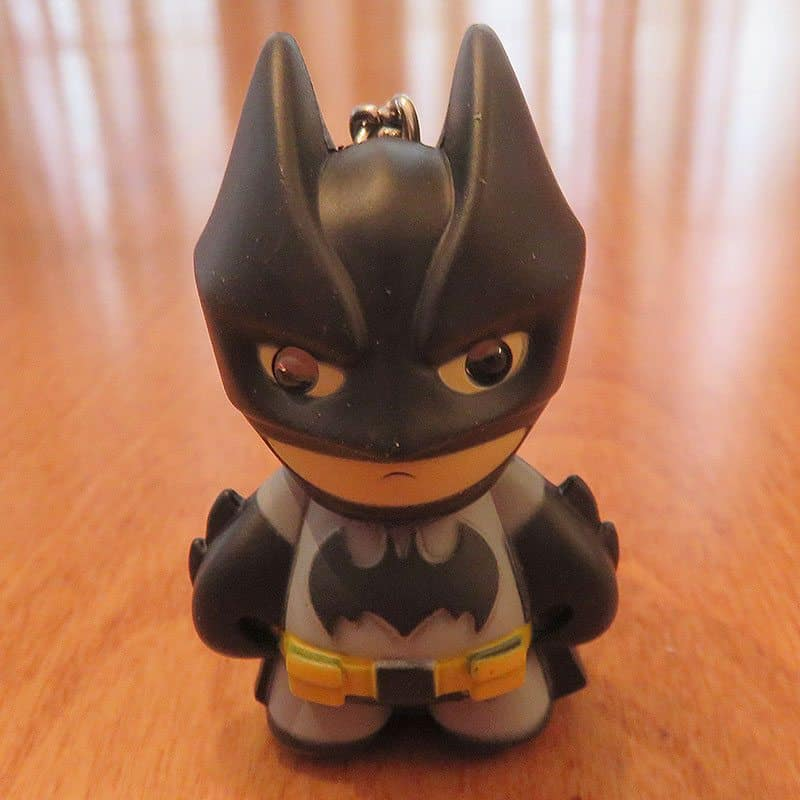 February 2017 Brick Loot Review: Fear the Brick Knight! - Batman Keychain
