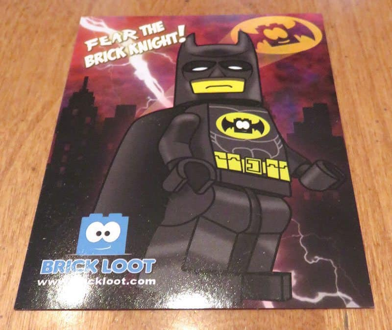 February 2017 Brick Loot Review: Fear the Brick Knight! - Sticker