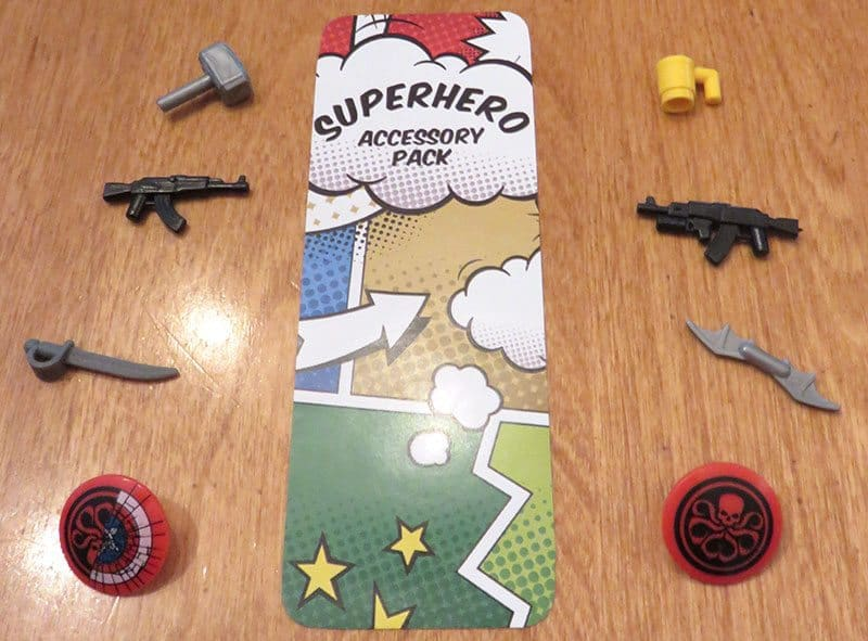 February 2017 Brick Loot Review: Fear the Brick Knight! - Superhero Accessory Pack