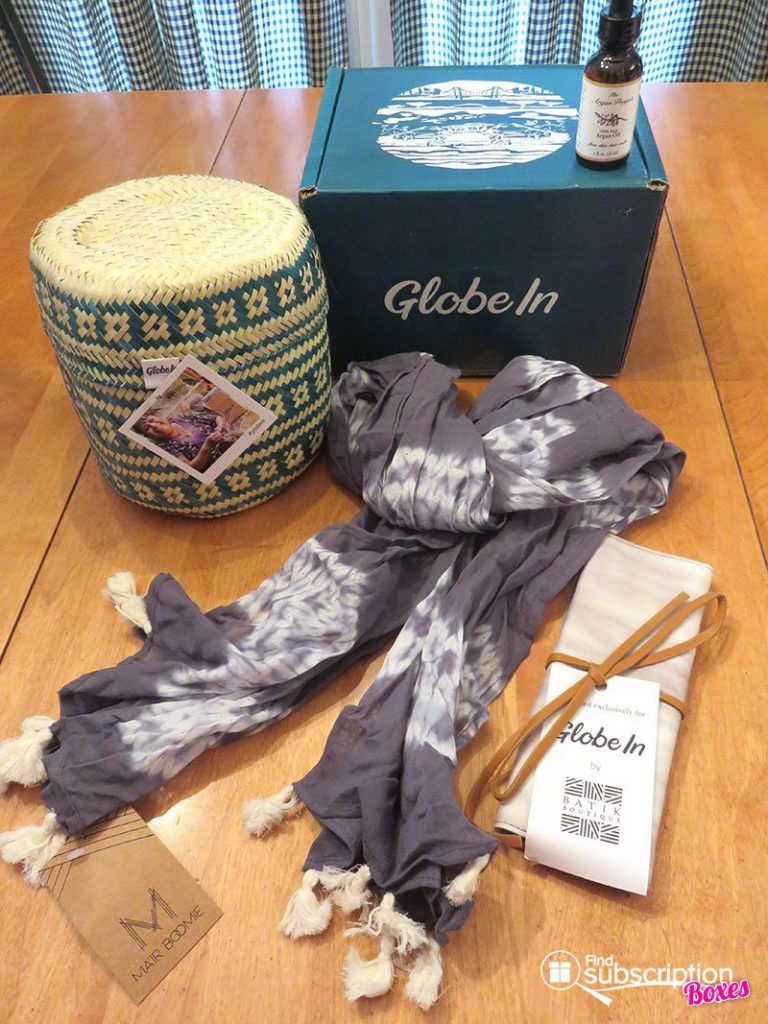 February 2017 GlobeIn Artisan Box Review - Pamper - Box Contents