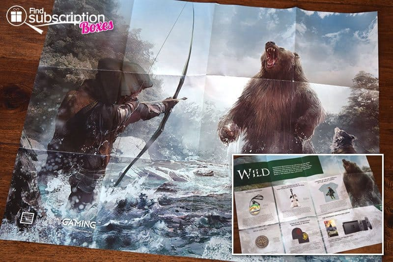 February 2017 Loot Gaming Review – Wild Crate - Poster