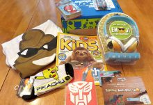 February 2017 Nerd Block Jr. for Boys Review - Box Contents
