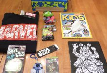 January 2017 Nerd Block Jr. for Boys Review - Box Contents