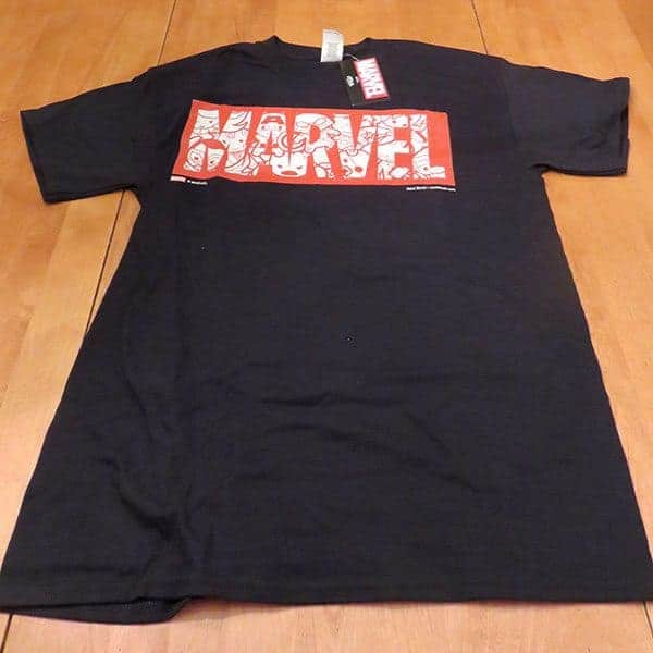 January 2017 Nerd Block Jr. for Boys Review - Marvel Shirt