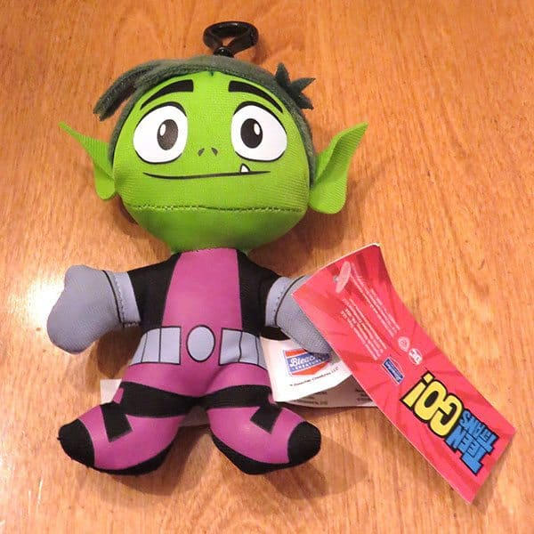 January 2017 Nerd Block Jr. for Boys Review - Teen Titans Go! Plush