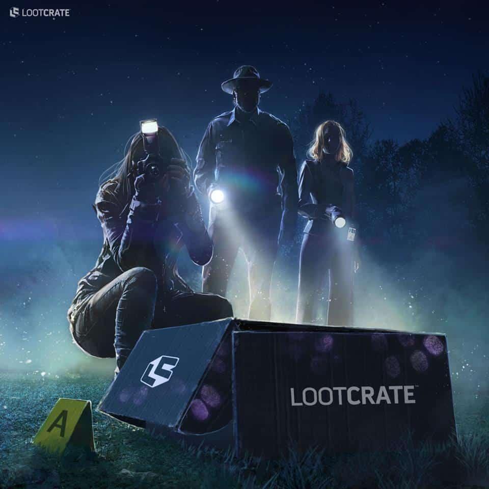 Loot Crate April 2017 Theme -INVESTIGATE