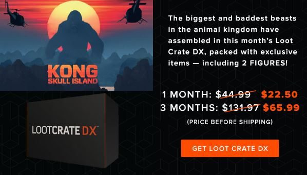 Loot Crate DX 50% Off Coupon