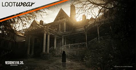 April 2017 Loot Tees Spoiler - Resident Evil: Umbrella Corp Henley Tee