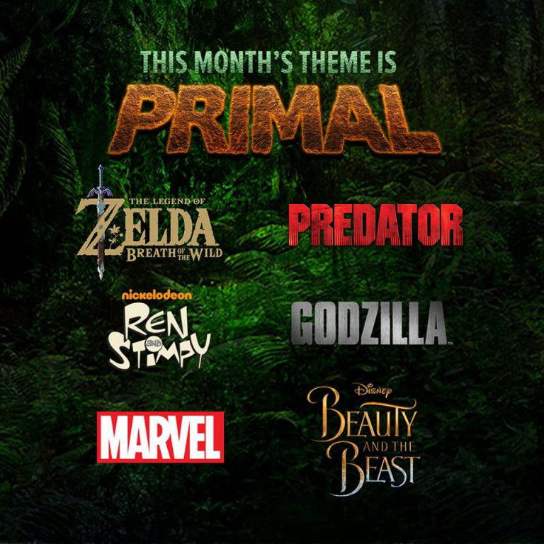 March 2017 Loot Wear Theme - Primal