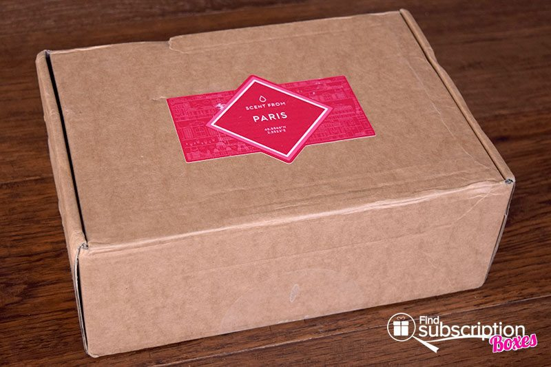 Scent From February 2017 Review – Paris - Box