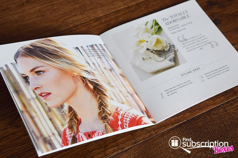 Spring 2017 Box of Style Review - Brochure