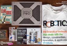 Winter 2017 Supply Pod Review - Robotics - Box Contents