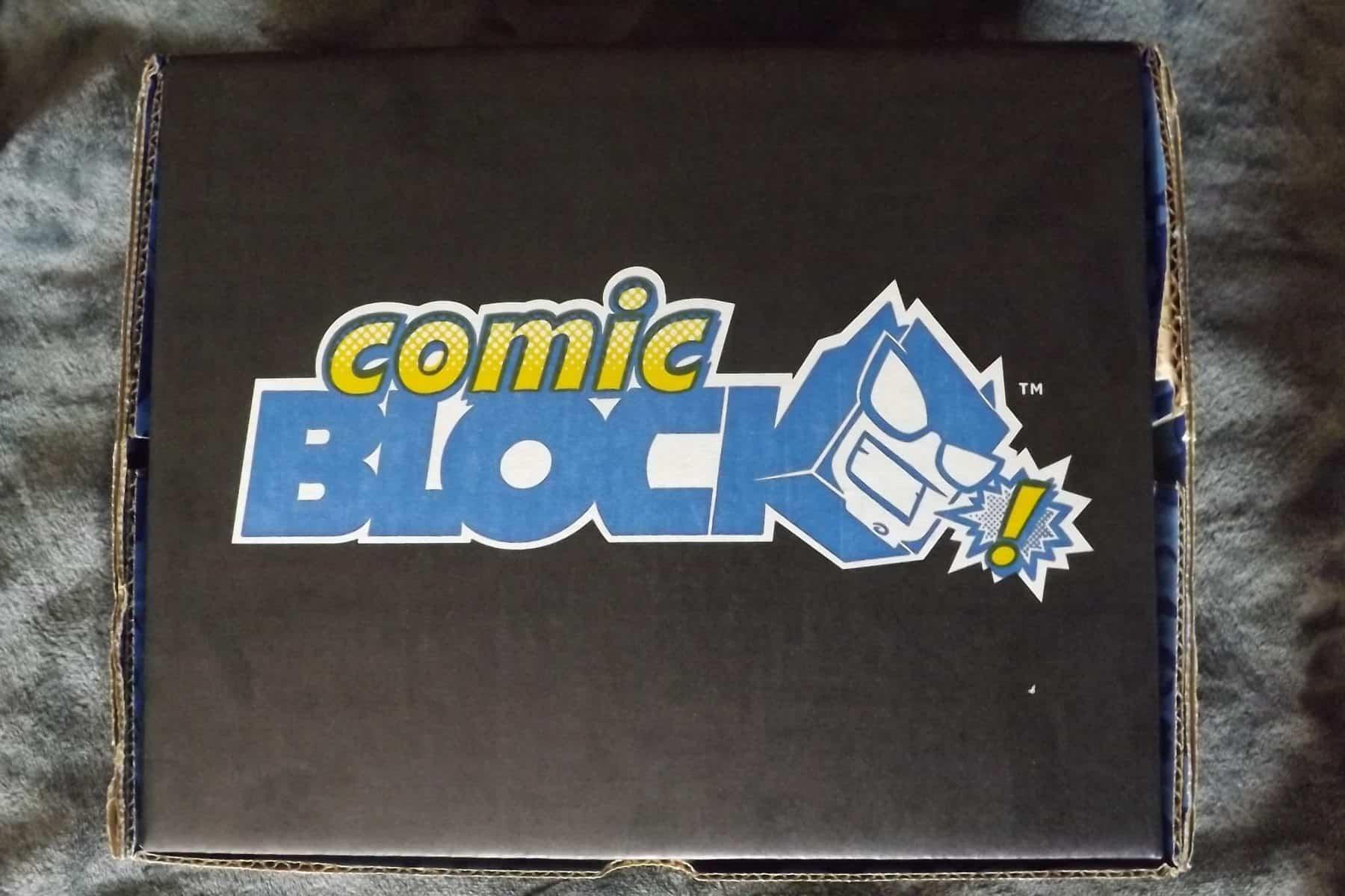 March 2017 Comic Block Subscription Review - Box Contents