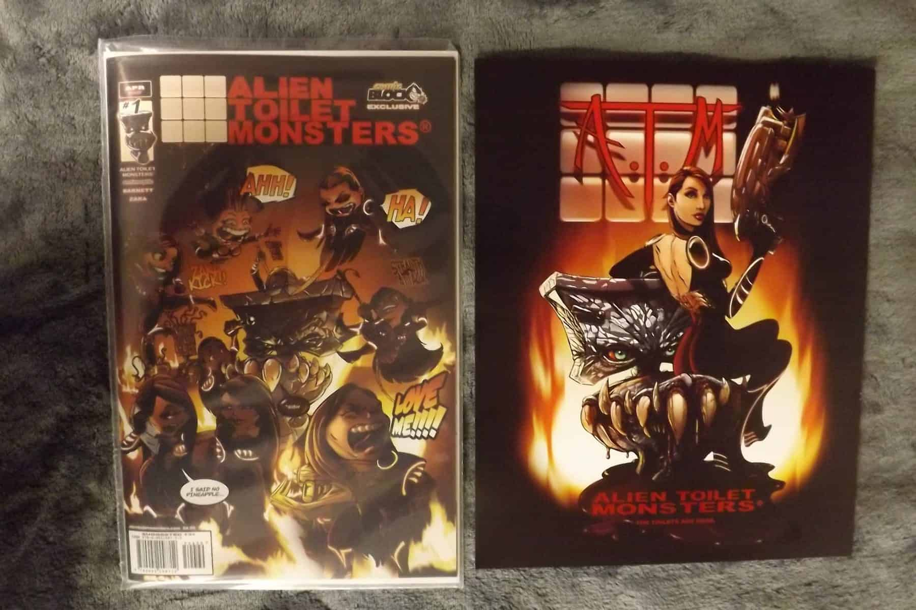 March 2017 Comic Block Subscription Review