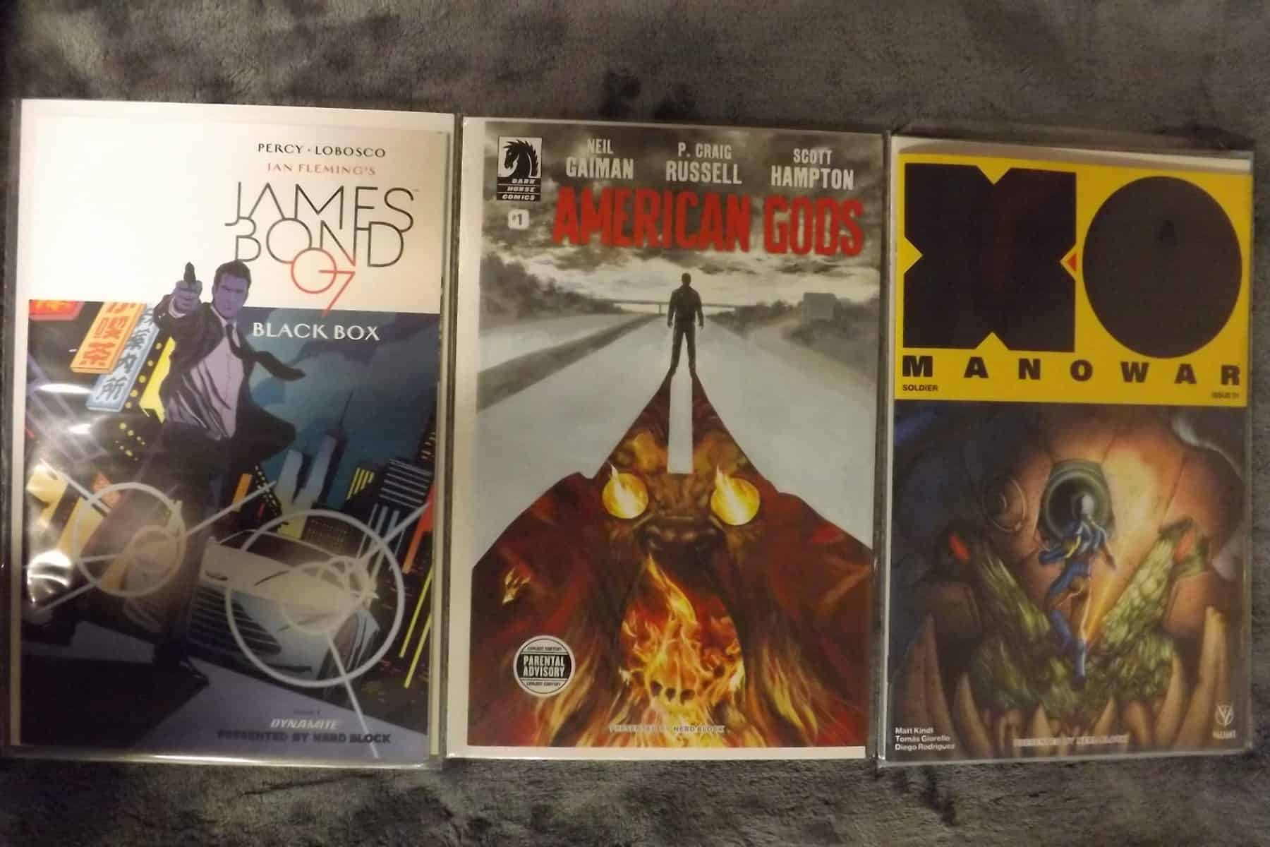 March 2017 Comic Block Review