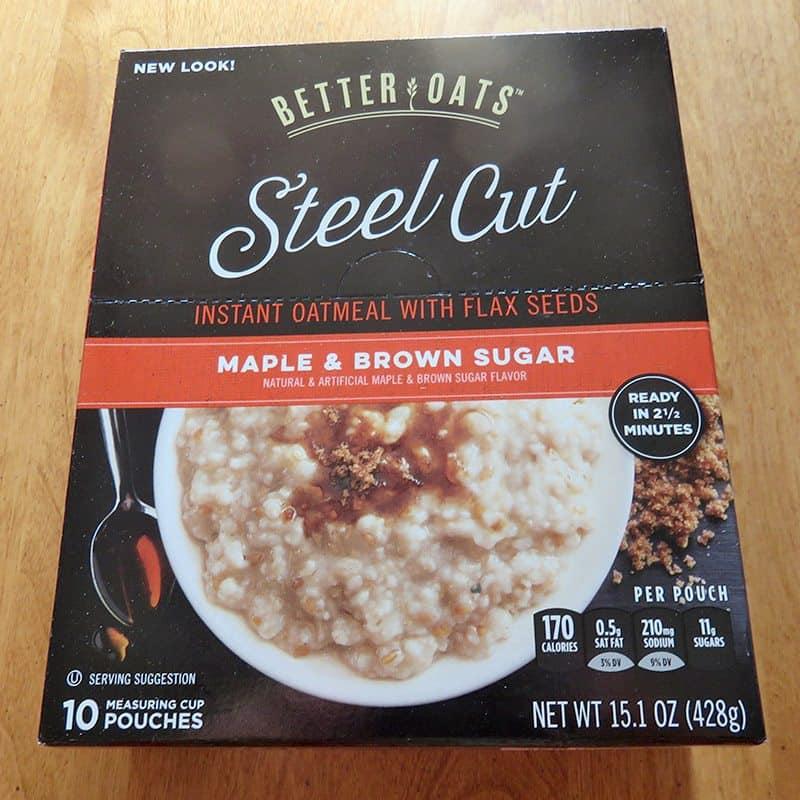 April 2017 Degustabox Review - Better Oats Steel Cut Oatmeal