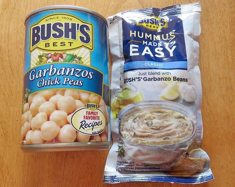 April 2017 Degustabox Review - Bush's Garbanzo Chick Peas & Hummus Made Easy