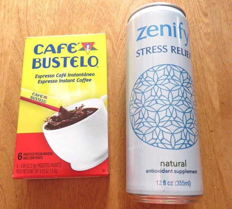 April 2017 Degustabox Review - Cafe Bustel & Zenify Stress Relief