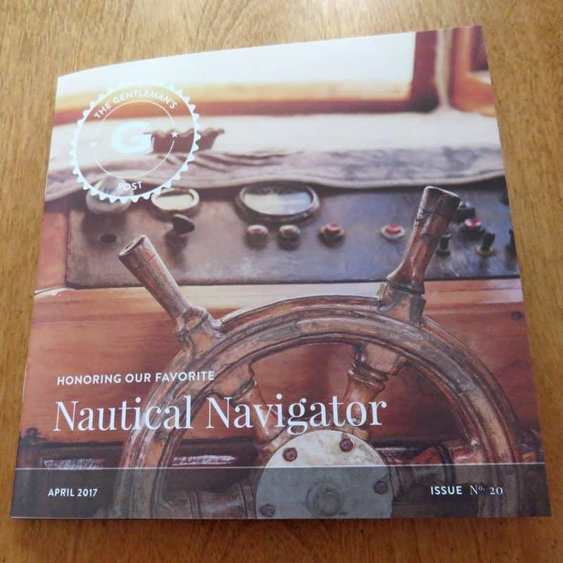 April 2017 Gentleman's Box Review - Brochure