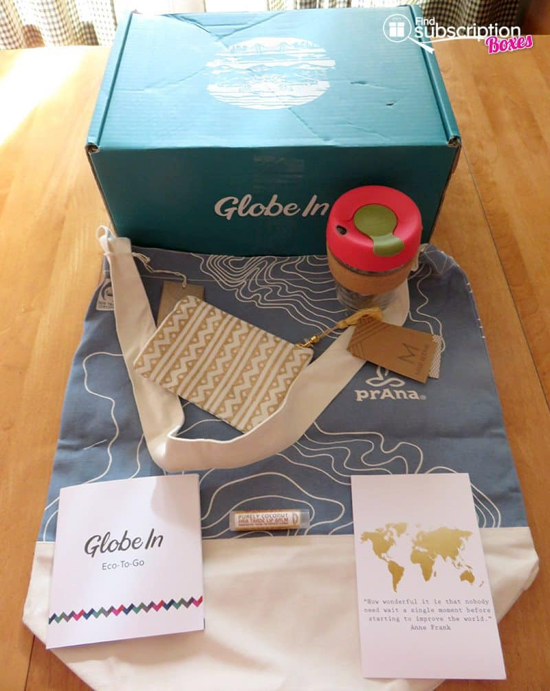 April 2017 GlobeIn Artisan Box Review - Eco-To-Go - Box Contents