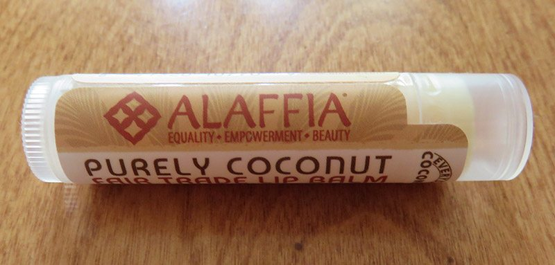 April 2017 GlobeIn Artisan Box Review - Eco-To-Go - Alaffia Coconut Lip Balm