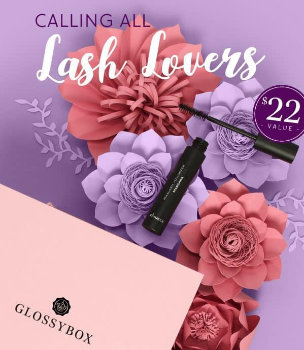 April 2017 GLOSSYBOX Spoiler - Doucce Cosmetics Maxlash Volumizer Mascara!
