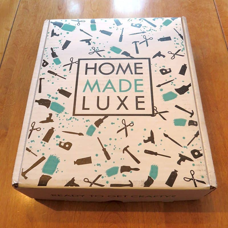 April 2017 Home Made Luxe Review - Box