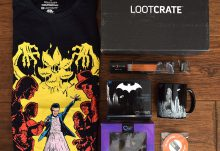 April 2017 Loot Crate Review – Investigate Crate - Box Contents