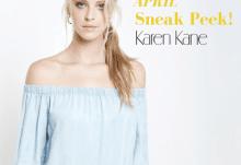 April 2017 Your Bijoux Box Spoiler - Karen Kane Hoop Earrings