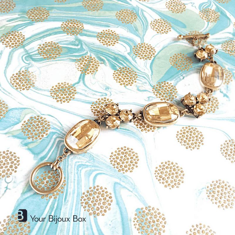 April 2017 Your Bijoux Box Spoiler - Goldenrod Statement Necklace