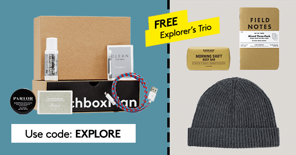 BirchboxMan 5th Anniversary Sale - Free Gift