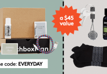 April 2017 Birchbox Man Free Gift: Free Everyday Upgrade Kit