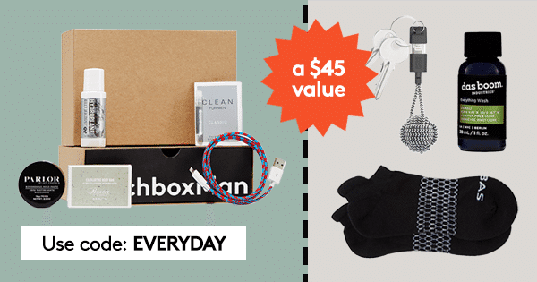April 2017 Birchbox Man Free Gift: Free Everyday Upgrade Kit