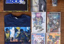 February 2017 Comic Block Review - Box Contents