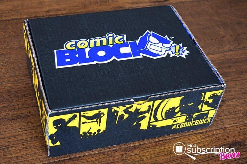 February 2017 Comic Block Review - Box