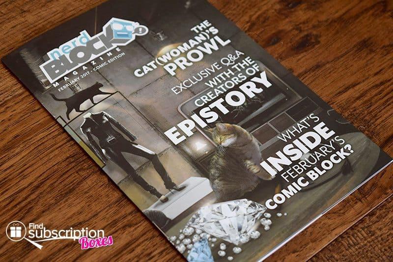 February 2017 Comic Block Review - Magazine