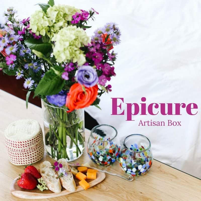 GlobeIn May 2017 Artisan Box Theme - Epicure