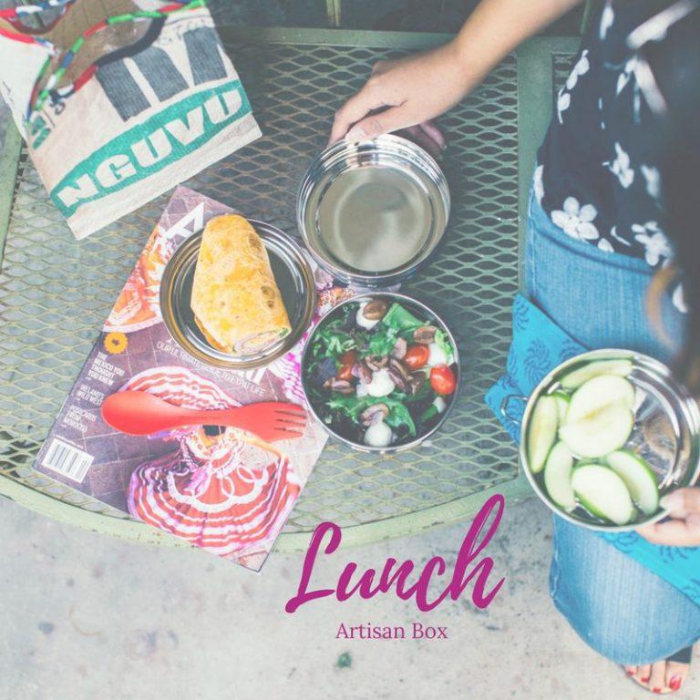 GlobeIn May 2017 Artisan Box Theme - Lunch