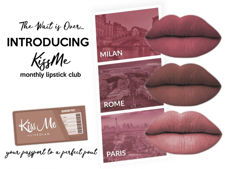 KissMe Club April 2017 Box Spoilers - Take Me Away Collection