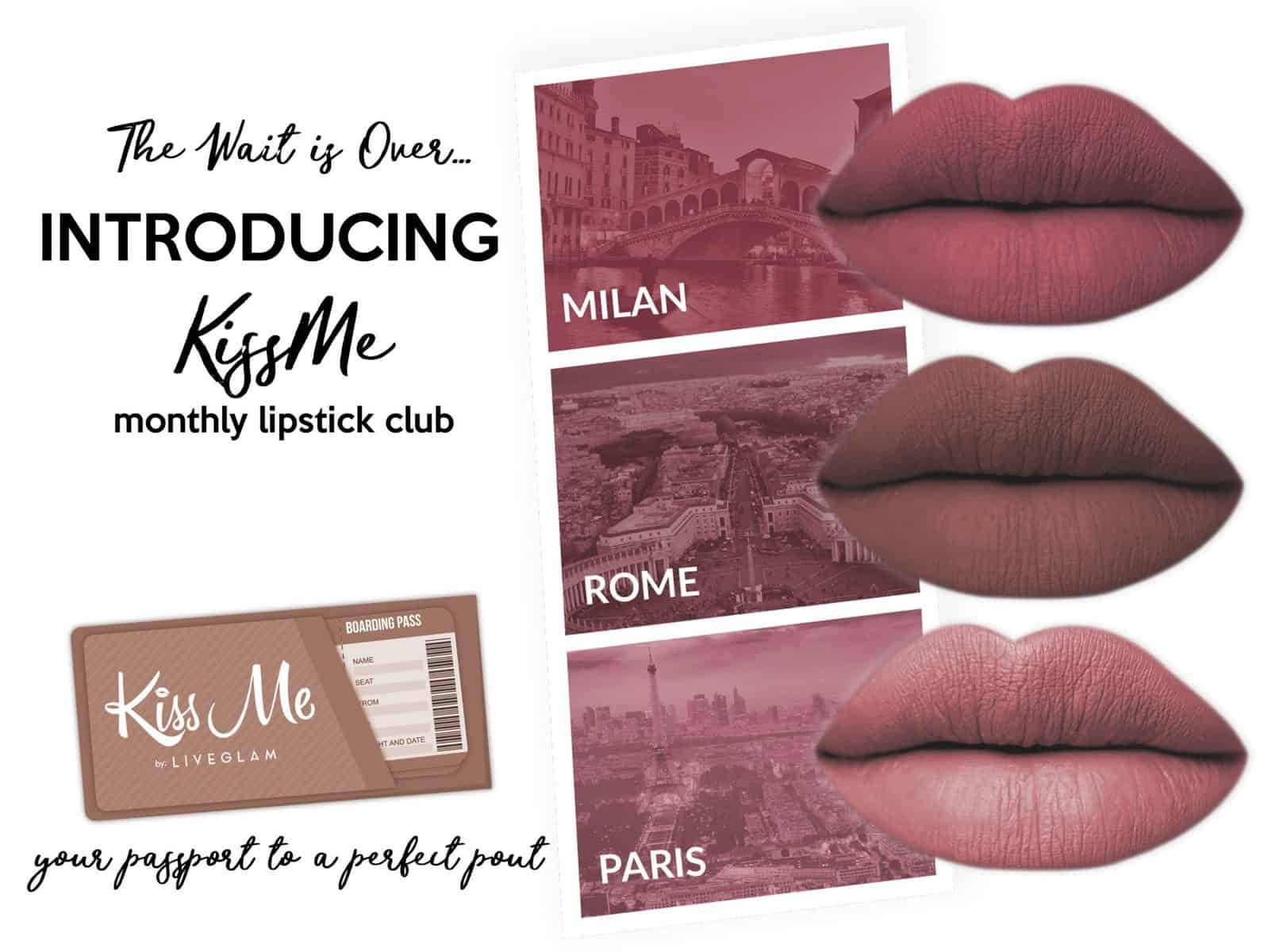 April 2017 KissMe Club Box Spoilers - Take Me Away Collection