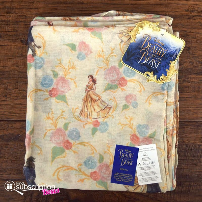 March 2017 Loot Wear Review - Primal - Loot for Her Beauty and the Beast Scarf