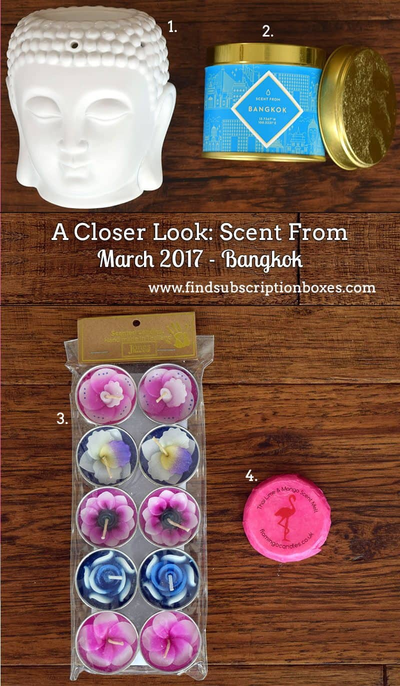 March 2017 Scent From Review - Bangkok - Inside the Box