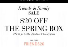 Box of Style Friends & Family Sale - Save $20