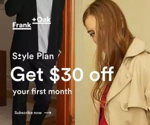 Get $30 off your first month of Style Plan