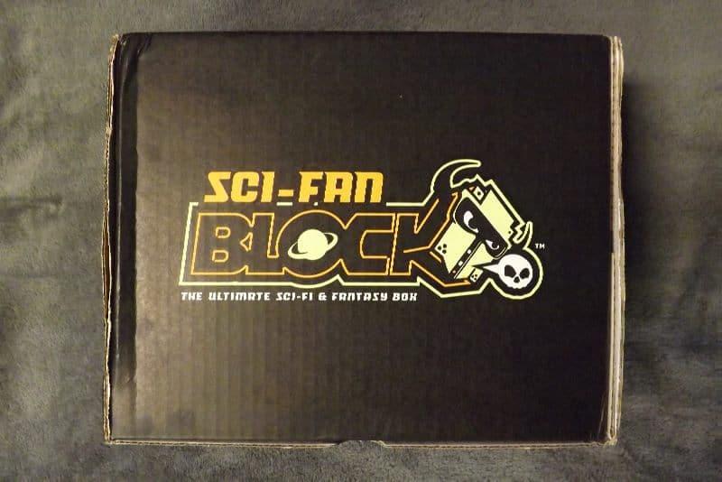 April 2017 Sci-Fan Block Review - Box