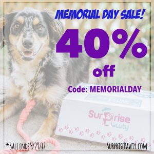 Surprise Pawty Memorial Day Sale