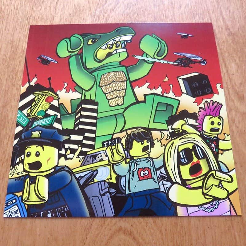 April 2017 Brick Loot Review: Welcome to Brick City - Art Print