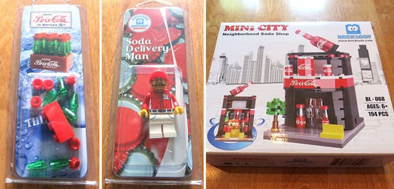 April 2017 Brick Loot Review: Welcome to Brick City - Soda Shop