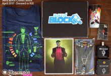 April 2017 Nerd Block Classic Review - Dressed to Kill - Box Contents